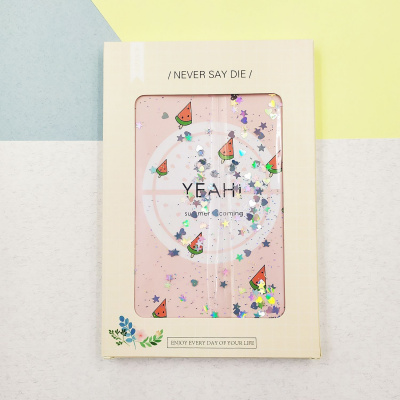 Купить Блокнот with Sparkles and Water Fruit and Boom 22323 - Ncase