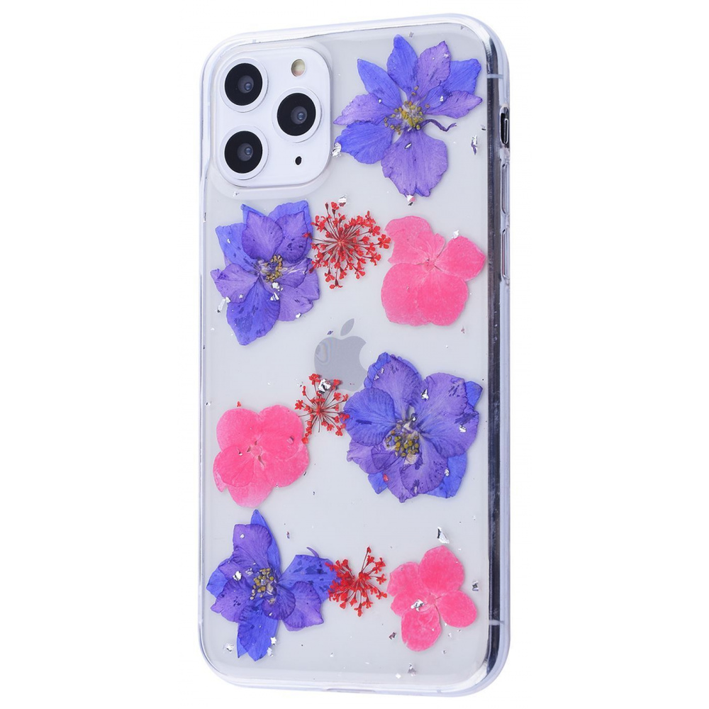 Nature flowers silicone case (TPU) iPhone 11 Pro Max - фото 4
