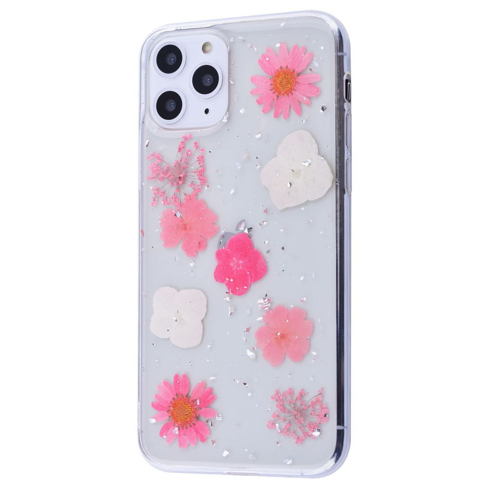 Nature flowers silicone case (TPU) iPhone 11 Pro Max - фото 3