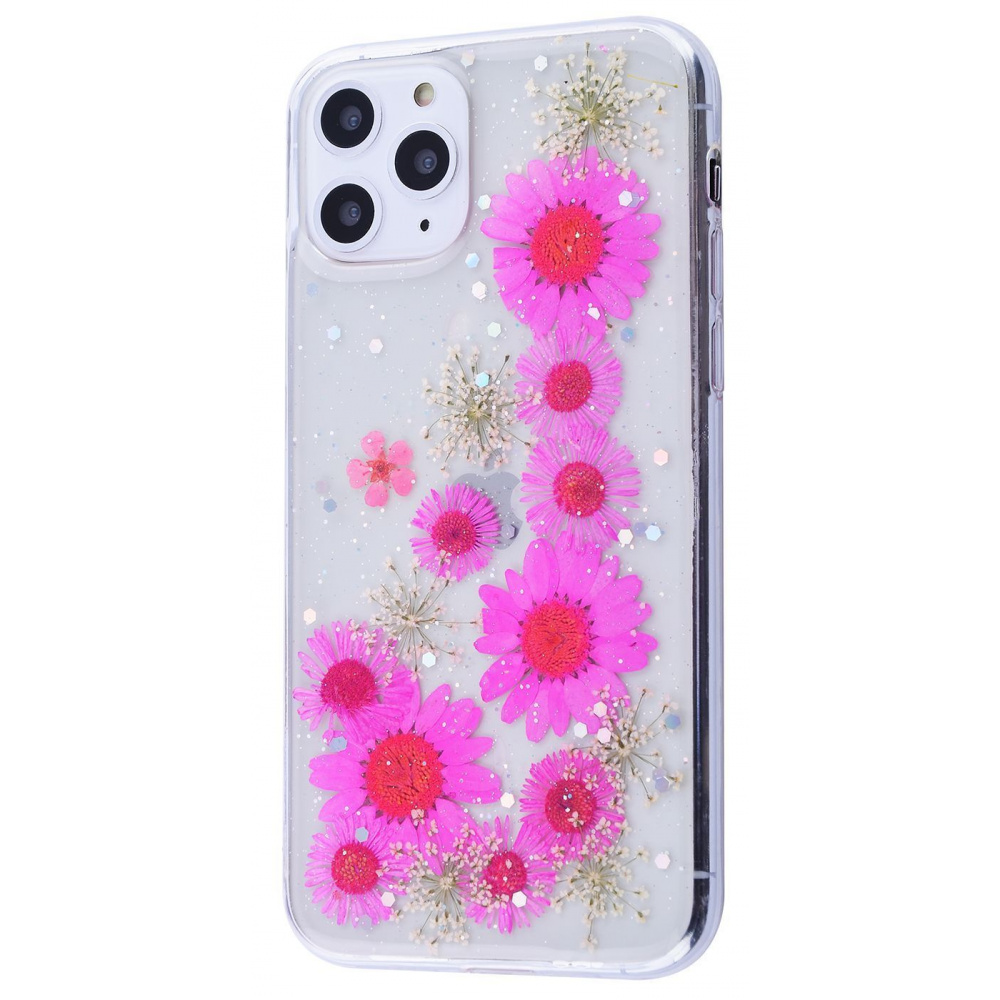 Nature flowers silicone case (TPU) iPhone 11 Pro Max - фото 2