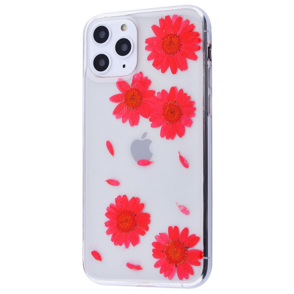 Nature flowers silicone case (TPU) iPhone 11 Pro Max - фото 1