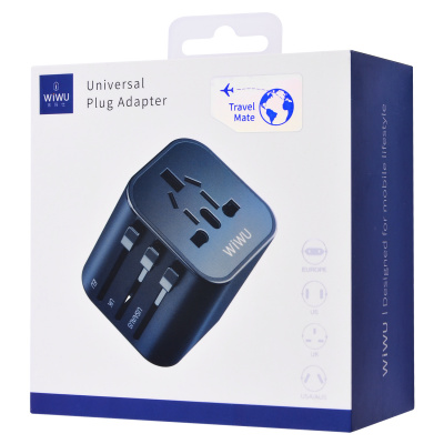 СЗУ Baseus Duke Universal Travel Charger (EU+UK+US) за $9.35, Код товара - 28332 - Ncase