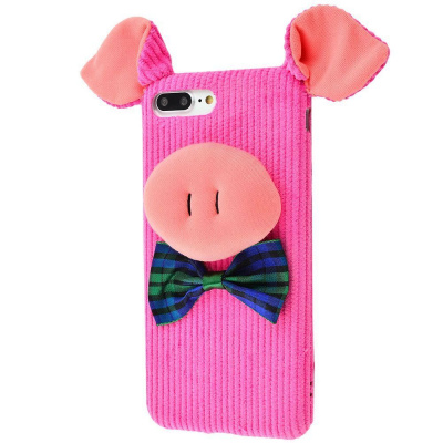Pink pig case iPhone 7/8/ Plus за $5.50, Код товара - 20189 - Ncase