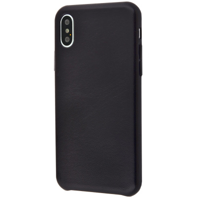 Natural Leather Smooth case iPhone Xs Max за $10.75, Код товара - 20558 - Ncase