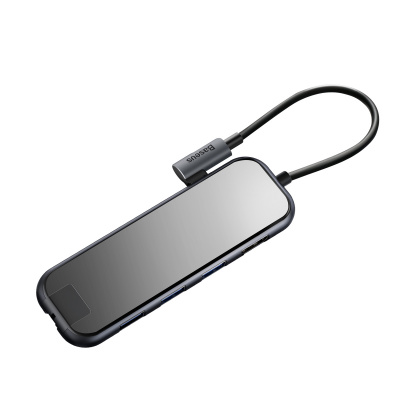 USB-Хаб Baseus Multi-functional (Type-C to 3xUSB3.0+HD4K+SD/TF+PD) за $29.85, Код товара - 22718 - Ncase