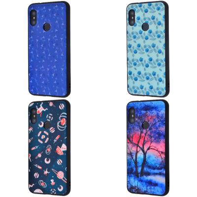 Купить Glass Picture Case (Glass+TPU) Xiaomi Mi A2/Mi6X 17274 - Ncase