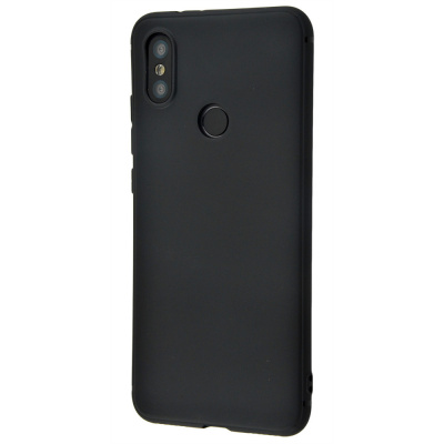Купить Силикон 0.5 mm Black Matt Xiaomi Mi A2/Mi6X 17668 - Ncase