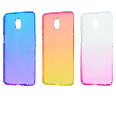 Купить Силикон 0.5 mm Gradient Design Meizu M6S 20108 - Ncase