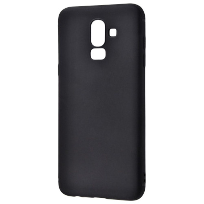 Купить Силикон 0.5 mm Black Matt Samsung Galaxy J8 2018 (J810F) 20296 - Ncase