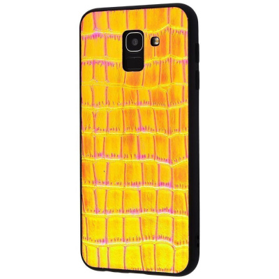Купить Holographic Leather Case Samsung Galaxy J6 2018 (J600F) 20731 - Ncase
