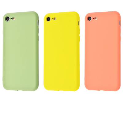 Купить Silicone cover My colors (TPU) iPhone 7/8/SE 2 21201 - Ncase