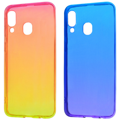 Купить Силикон 0.5 mm Gradient Design Samsung Galaxy A40 (A405F) 21601 - Ncase