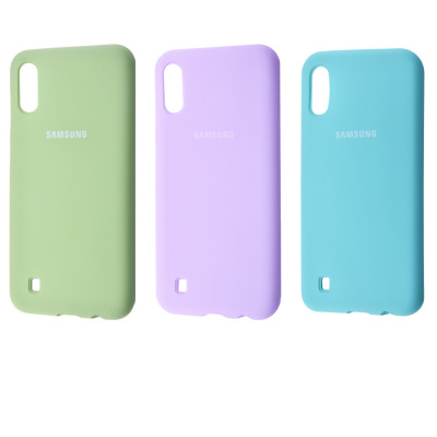 Купить Silicone Cover Full Protective Samsung Galaxy M10 (M105F) 22223 - Ncase