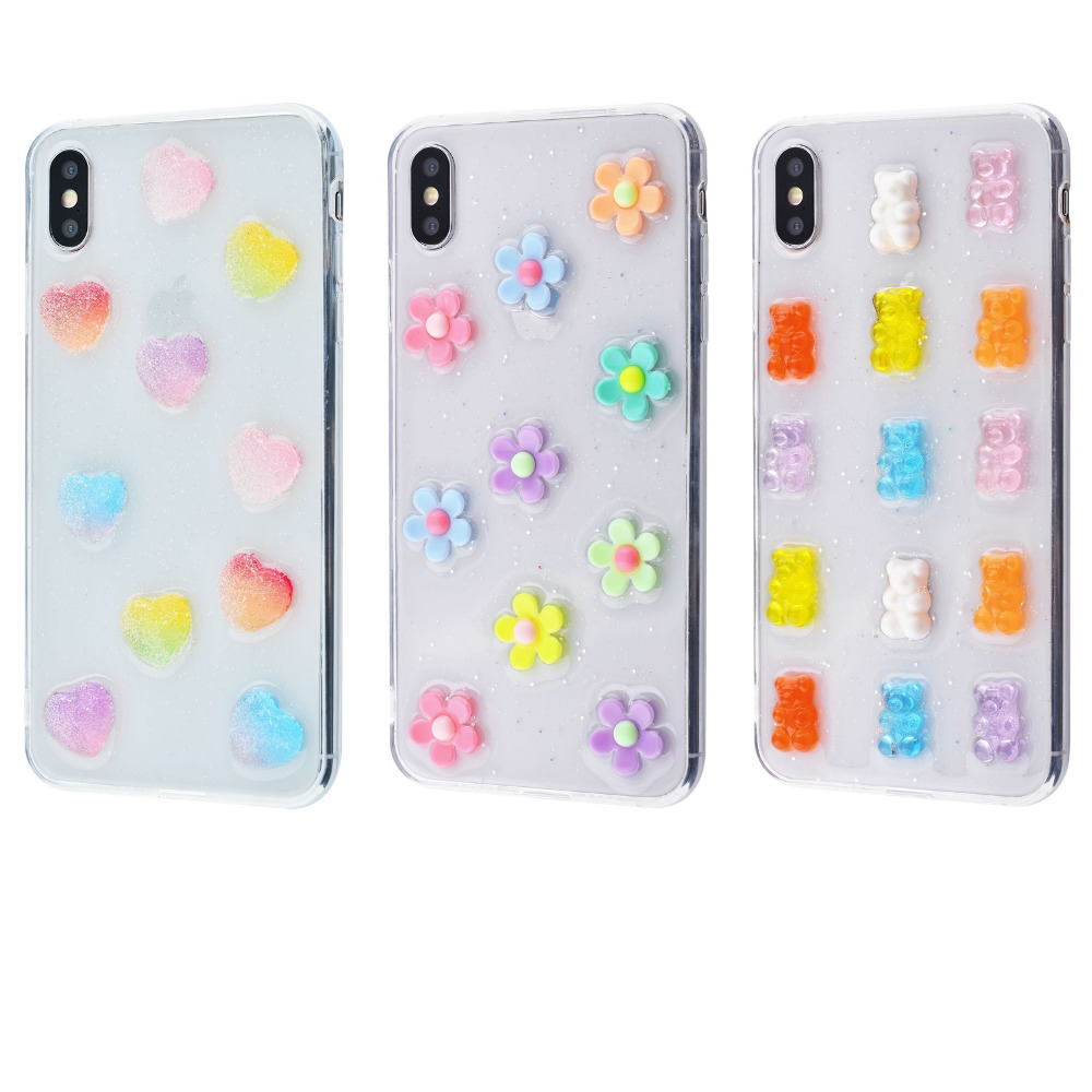 Silicone Candy case (TPU) iPhone Xs Max