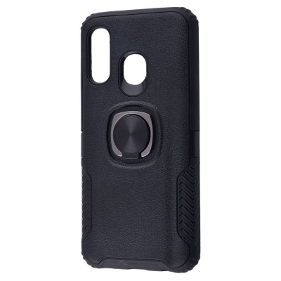 Купить Leather Design Case With Ring (PC+TPU) Samsung Galaxy A40 (A405F) 22818 - Ncase