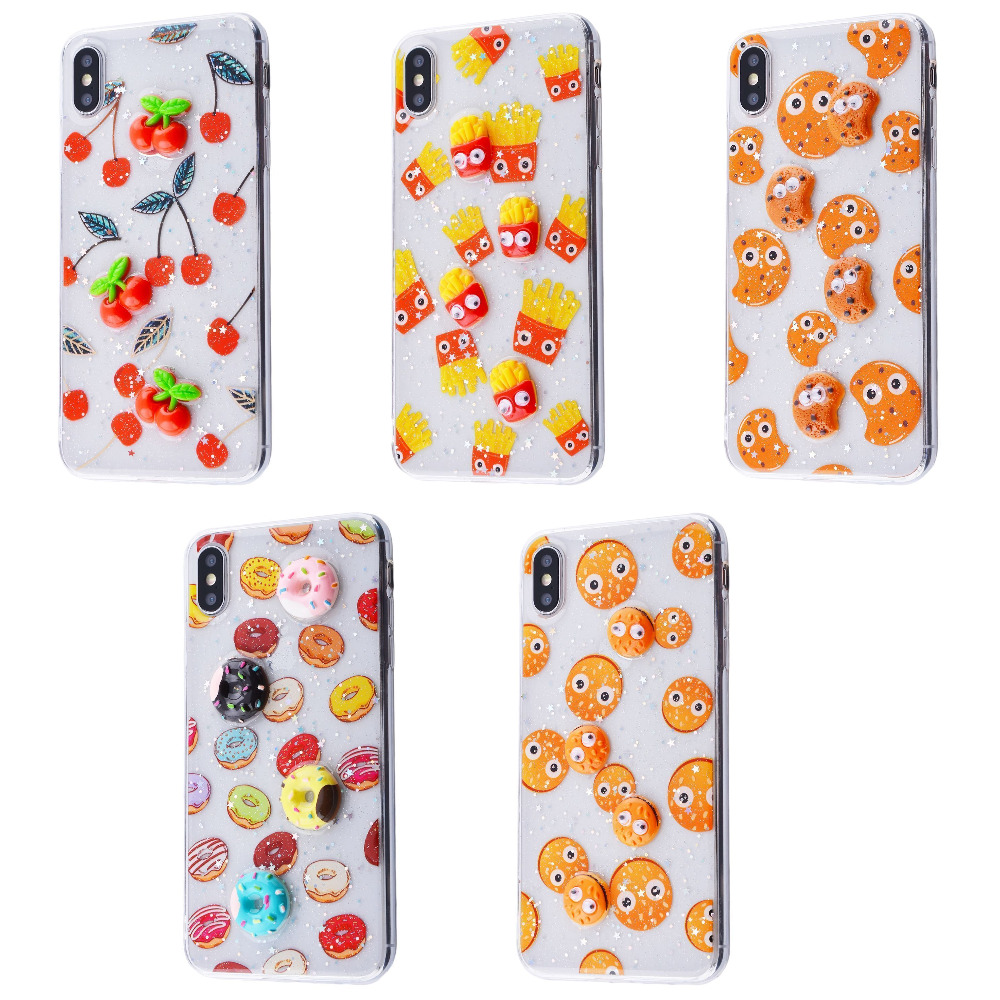Sweet silicone 3D Case (TPU) iPhone Xs Max