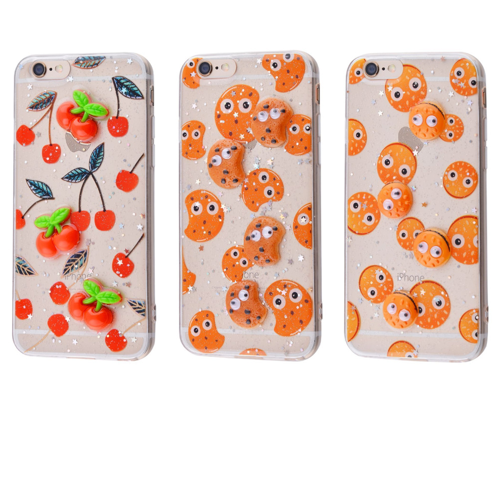 Sweet silicone 3D Case (TPU) iPhone 6/6s