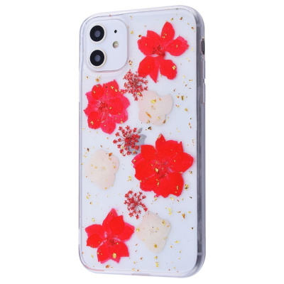 Nature flowers silicone case (TPU) iPhone X/Xs за $2.60, Код товара - 23437 - Ncase