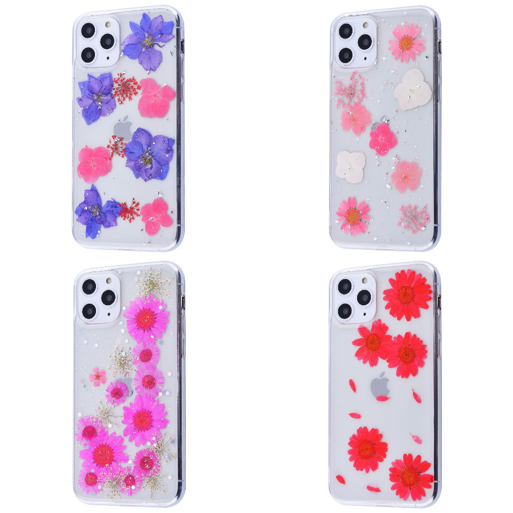 Nature flowers silicone case (TPU) iPhone 11 Pro Max