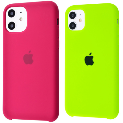 Купить Silicone Case High Copy iPhone 11 23328 - Ncase