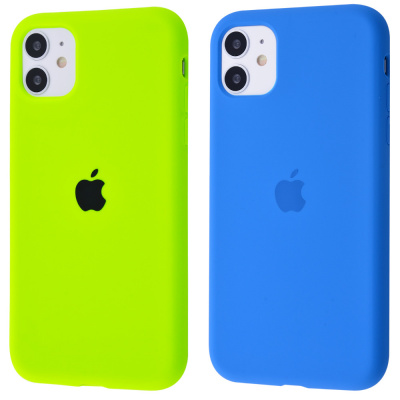Купить Silicone Case Full Cover iPhone 11 23527 - Ncase