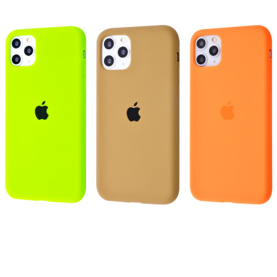 Купить Silicone Case Full Cover iPhone 11 Pro Max 23528 - Ncase