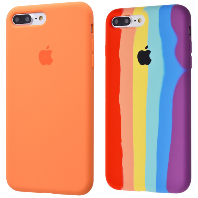 Купить Silicone Case Full Cover iPhone 7 Plus/8 Plus 23576 - Ncase