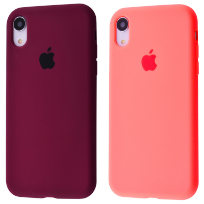 Купить Silicone Case Full Cover iPhone Xr 23578 - Ncase