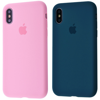 Купить Silicone Case Full Cover iPhone X/Xs 23577 - Ncase