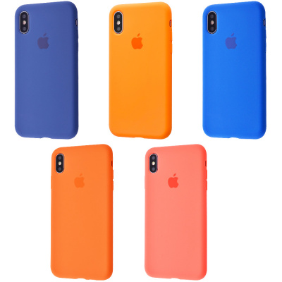 Купить Silicone Case Full Cover iPhone Xs Max 23579 - Ncase