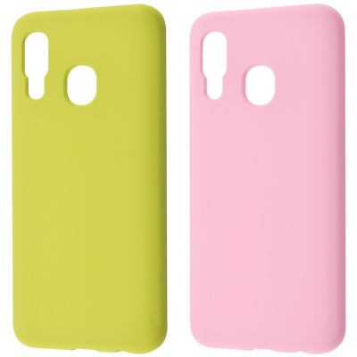 Купить WAVE Full Silicone Cover Samsung Galaxy A40 (A405F) 23719 - Ncase