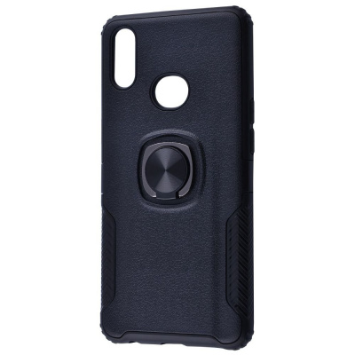 Купить Leather Design Case With Ring (PC+TPU) Samsung Galaxy A10s (A107F) 23673 - Ncase