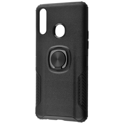 Купить Leather Design Case With Ring (PC+TPU) Samsung Galaxy A20s (A207F) 23702 - Ncase