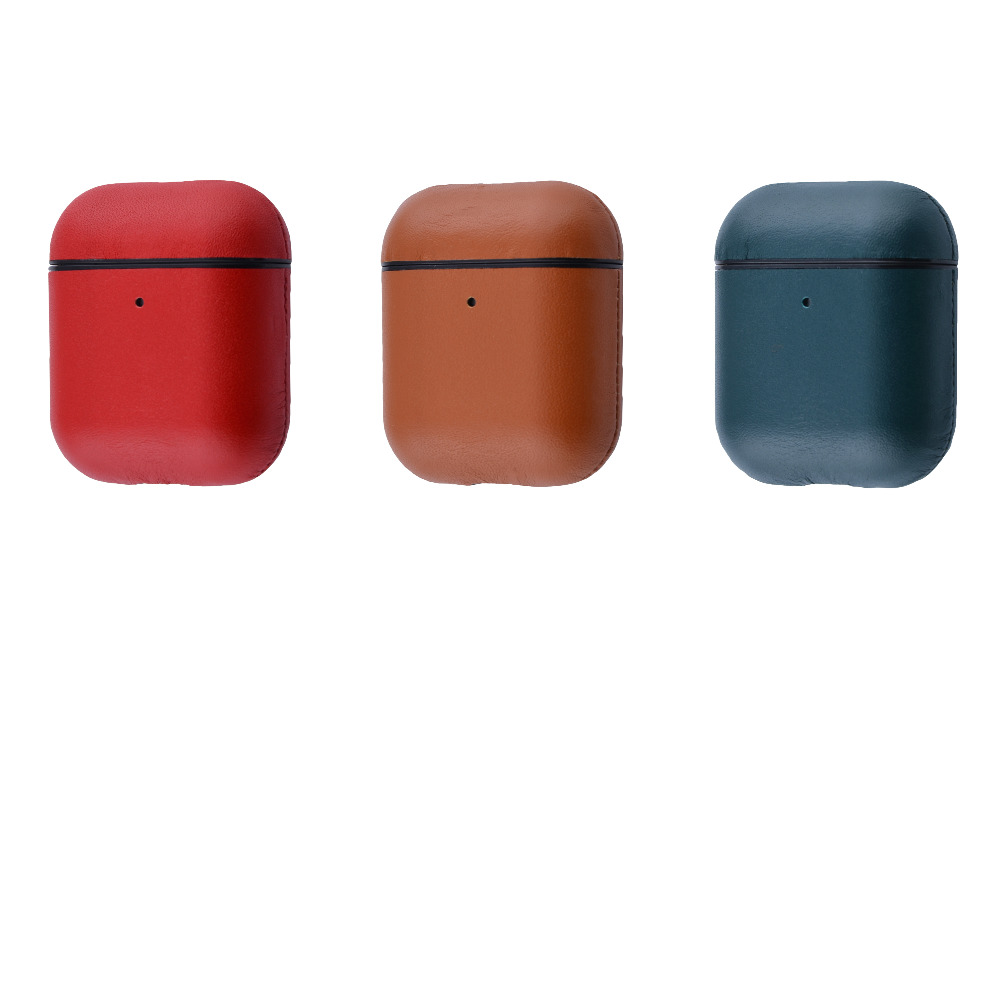 Leather Case (Leather) for AirPods 1/2