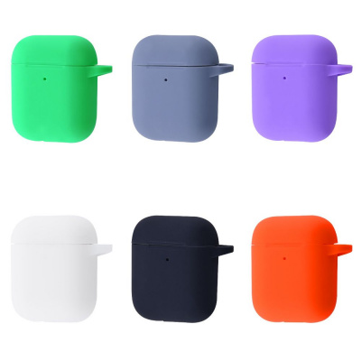 Купить Silicone Case New for AirPods 1/2 27186 - Ncase