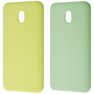 Купить WAVE Full Silicone Cover (3 side) Xiaomi Redmi 8A 27296 - Ncase