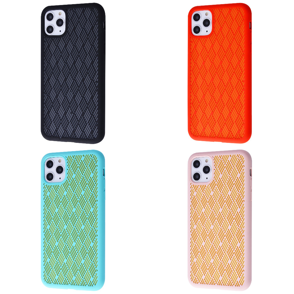 Silicone Weaving Case iPhone 11 Pro Max
