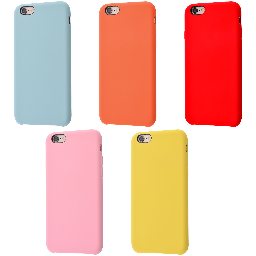 Silicone Case Without Logo iPhone 6/6s