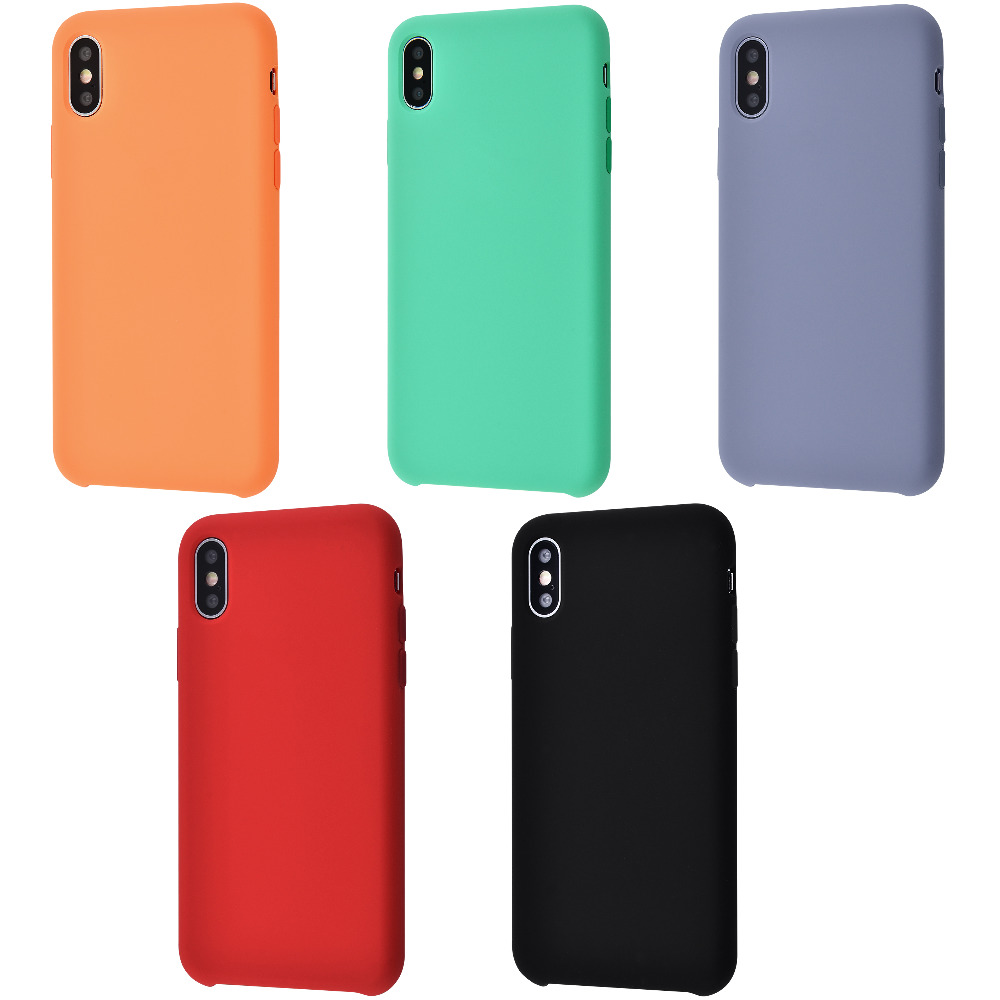 Silicone Case Without Logo iPhone Xs Max