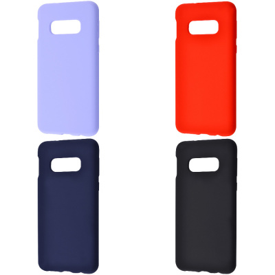 Купить WAVE Full Silicone Cover Samsung Galaxy S10E 27494 - Ncase