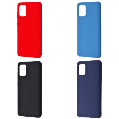 Купить WAVE Full Silicone Cover Samsung Galaxy A71 (A715) 27654 - Ncase