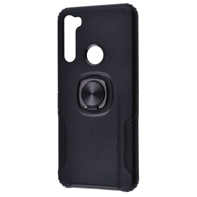 Купить Leather Design Case With Ring (PC+TPU) Xiaomi Redmi Note 8T 27658 - Ncase