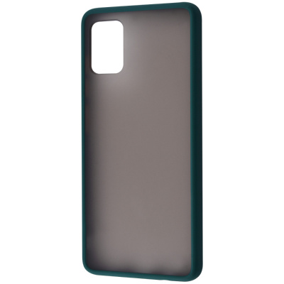 Купить Matte Color Case (TPU) Samsung Galaxy A71 (A715) 27596 - Ncase