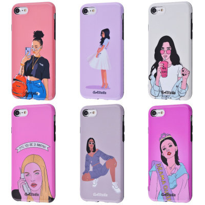 Купить ArtStudio Case Grl Power Series (TPU) iPhone 7/8/SE 2 27823 - Ncase
