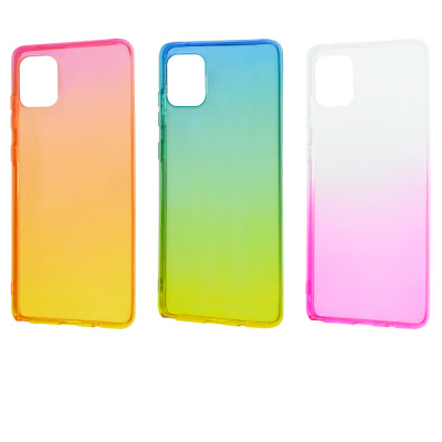 Купить Силикон 0.5 mm Gradient Design Samsung Galaxy S10 Lite (G770F) 27758 - Ncase