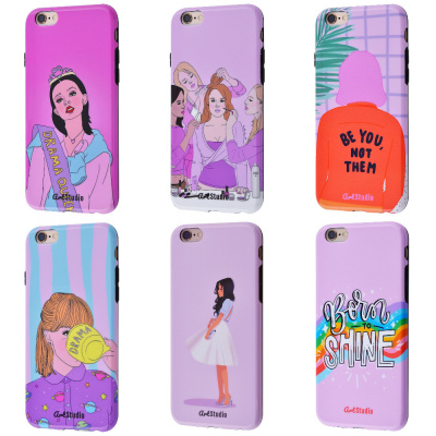 Купить ArtStudio Case Grl Power Series (TPU) iPhone 6/6s 27822 - Ncase