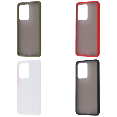 Купить Matte Color Case (TPU) Samsung Galaxy S20 Ultra 27851 - Ncase
