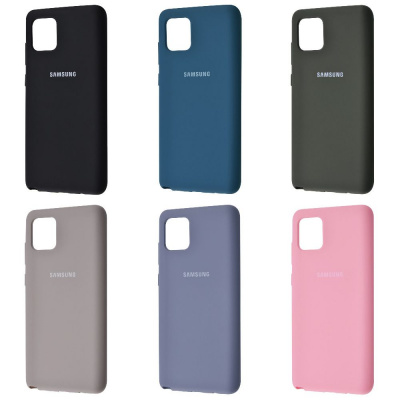 Купить Silicone Cover Full Protective Samsung Galaxy Note 10 Lite (N770F) 28129 - Ncase