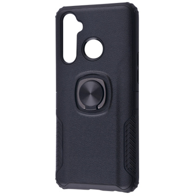 Купить Leather Design Case With Ring (PC+TPU) Realme 5 Pro 28137 - Ncase