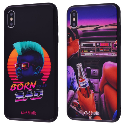 Купить ArtStudio Case CyberPunk Series (HQ Glass+TPU) iPhone Xs Max 28202 - Ncase